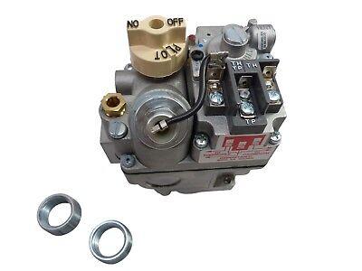 New:  700-506 Robertshaw Cooking Heating Gas Valve MilliVolt MV 54-1011 810-0014