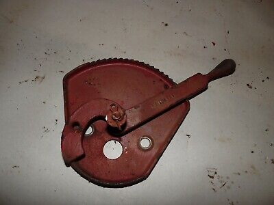 1951 Farmall C Farm Tractor Throttle Plate