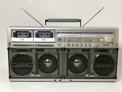 ⭐SHARP GF-777 Z⭐BEST PRICE BIG OLD VINTGE Stereo Boombox PERFECT