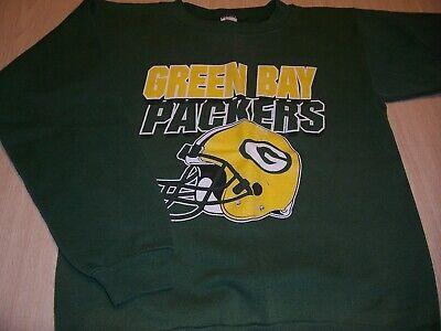 Green Bay Packer Logo (LOGO 7 GREEN BAY PACKERS LS GREEN SWEATSHIRT BOYS LARGE 14-16 EXCELLENT)