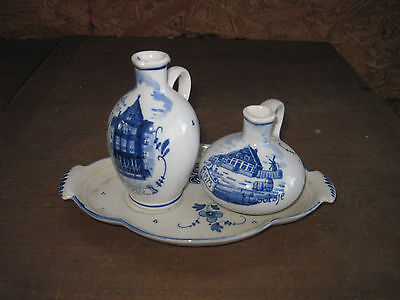 Zenith Condiment Set.. Made in Holland..One Looks Signed..