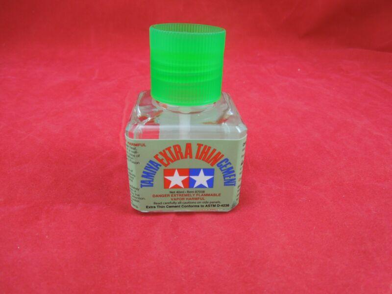 TAMIYA 87038 EXTRA THIN CEMENT PLASTIC MODEL GLUE 40 ml MODELING