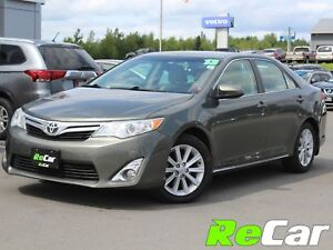 2013 Toyota Camry XLE HEATED LEATHER | BACK UP CAM | SUNROOF