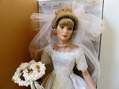 "ASHTON DRAKE ""WITH THIS RING"" PORCELAIN BRIDE DOLL"
