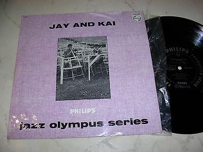 "10"" JAY AND KAI Jazz Olympus Series PHILIPS 10"" MONO B 07906 R 1958"