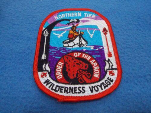 Boy Scout -  Northern Tier - Wilderness Voyage patch - MINT