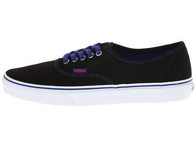 VANS Authentic Pop Black/Royal Blue Men US Size 13 VN-0TSV8QW Royal Blue Pop