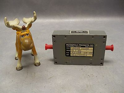 Lowpass Filter Fla-1038 Sn 200 Metropole Products 62.5 Mhz Sm-a-720155-4