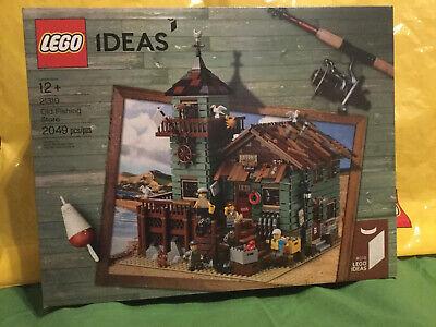 LEGO Ideas 21310 Old Fishing Store Set FACTORY SEALED