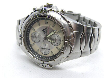 ADIDAS - MEN'S STAINLESS STEEL SPORTS CHRONOGRAPH WATCH - New Battery (PU03)