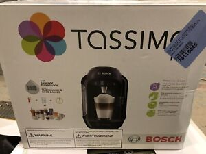 Bosch Tassimo T12 Single Cup Home Brewing System Black- New