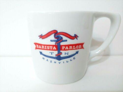 Barista Parlor Nashville Tennessee Diner Mug Coffee Cup Porcelain by notNeutral