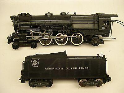 Rare 21115 American Flyer Pennsylvania K-5 Locomotive & Tender [Lot 11-L6]