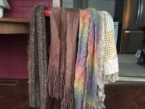 Cute fall winter scarves