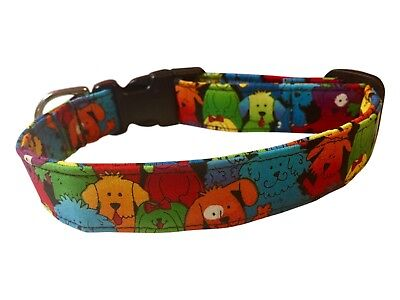 SPIFFY POOCHES Dog Collar FUN COLORFUL DOGS ~ BUY 1 GET 1 50% OFF - Fun Dog Collars