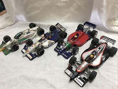 1:18 Lot Of 4 UT Models Die Cast Indy Cars F1 Reynard Eagle MK V