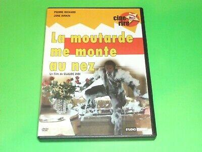 DVD  LA MOUTARDE ME MONTE AU NEZ     comme neuf
