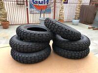 3.50x8 tire+tube Tire /& Inner Tube for Honda Z50A Z50R Mini Trail Front//Rear