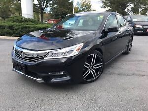 2016 Honda Accord Sedan L4 Touring CVT 1-Owner|Clean Carproof|Na