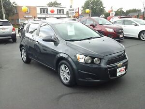 2014 CHEVROLET SONIC LT AUTO- REAR VIEW CAMERA, HEATED FRONT SEA