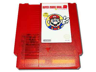 Super Mario Bros 2J The Lost Levels Nintendo NES Famicom NTSC Red Game (Super Mario Bros 2 The Lost Levels)