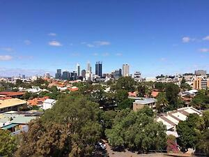 CITY VIEWS!!! Neat partly furnished 1 bedroom unit West Perth Vincent Area Preview