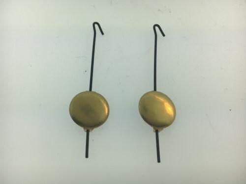 "Miniature Novelty Clock Pendulum 2 3//4/"" Length 2 PIECES PACK Germany Zappler Lux"