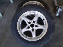 Ford Falcon or Jeep 15 inch mag wheels and tyres X2 Thuringowa Central Townsville Surrounds Preview
