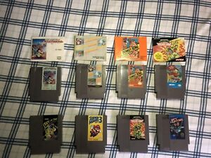 NES GAMES AND ACCESSORIES