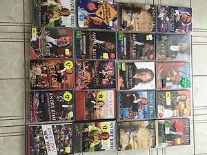 20 assorted Andre Rieu DVD 's  CD 's Surfers Paradise Gold Coast City Preview