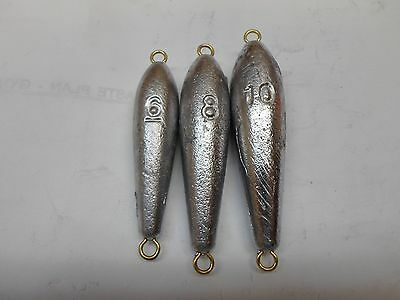 Fishing Weight Torpedo 8 oz Fishing Sinker Lead