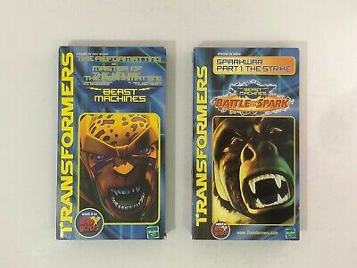 Transformers Beast Machines VHS Promos! Reformatting! Master of House! Sparkwar!