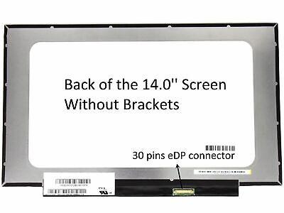 "LCD LED 14"" per HP Pavilion x360 14-cd0015nl monitor schermo display video 30pin"