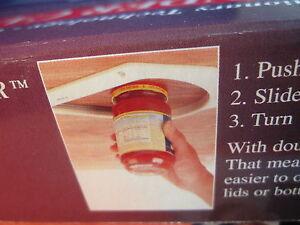 Quot Wonder Quot Under Cabinet Shelf Jar Lid Opener Great Gift