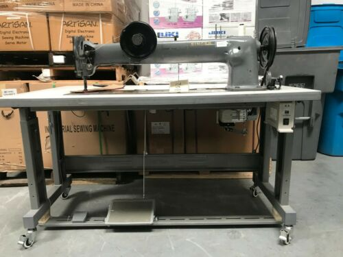 "Singer 144W 29.5"" Long Arm Walking Foot Sewing Machine"