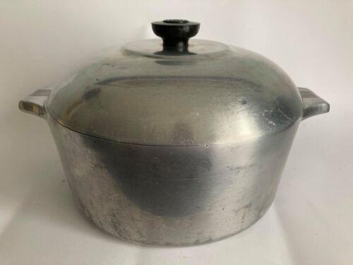 Vintage Wagner Ware Sidney O Magnalite 5 Qt #4248-P Dutch Oven Roaster/Pot W/Lid
