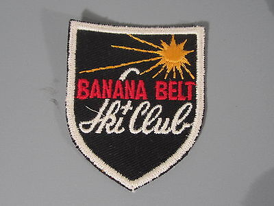 d348845cac2 Banana Belt Ski Club Patch   New Old Stock of Embroidery Company   FREE Ship