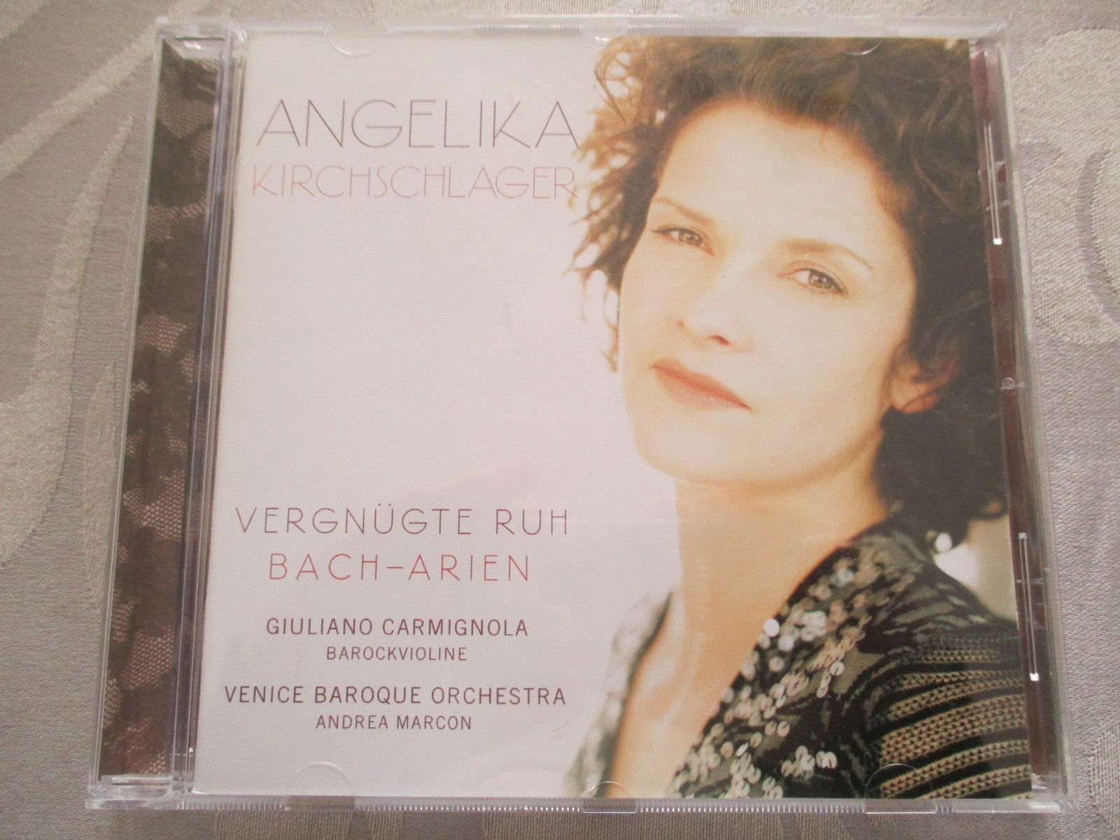 Angelika Kirchschlager - Vergnügte Ruh - Bach-Arien - CD