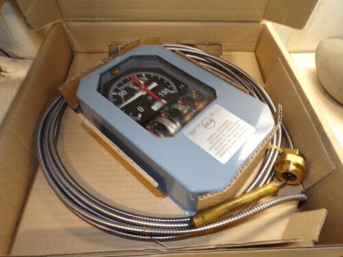 NEW QUALITROL AKM OIL TEMPERATURE THERMOMETER TD 34 RANGE 0 - 150ºC