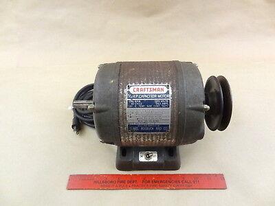 Craftsman 12 Hp Ball Bearing Reversing Motor Adjustable Pulley Lathe Machinist