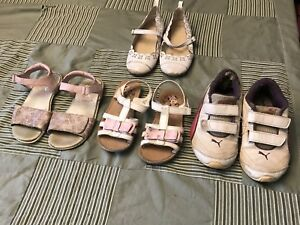 Variety of girls shoes size 10