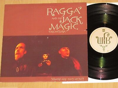 """12"""" Ragga & The Jack Magic Orchestra - Where Are They Now ? Emi - 12em 456 0"""
