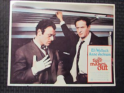 "1967 THE TIGER MAKES OUT Original 14x11"" Lobby Card #7 VG 4.0 Eli Wallach"