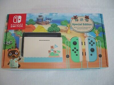 Nintendo Switch-Special Edition Console-Animal Crossing: New Horizons BRAND NEW!