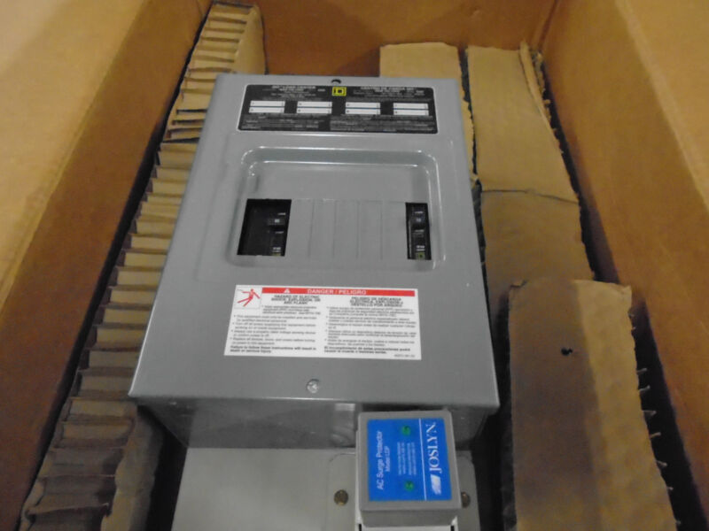 Emerson 544970 8 POS 120V/240  AC DISTRIBUTION PANEL WITH SQUARE-D Q08-16L100S