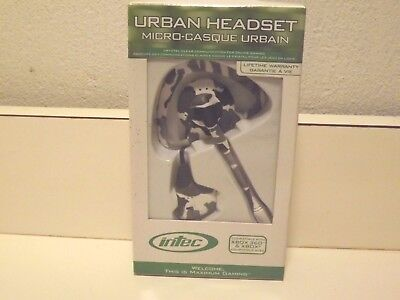 Intec Xbox 360 Urban Headset Wired Camo