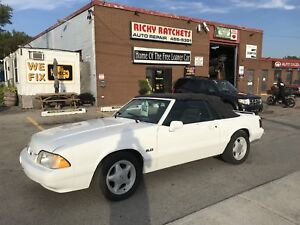 1991 MUSTANG CONVERTIBLE!  FLORIDA CAR! NO RUST! CERTIFIED!