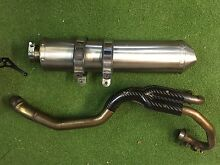 XT 660 R Scorpion two into one exhaust system & Protection Mona Mona Tablelands Preview