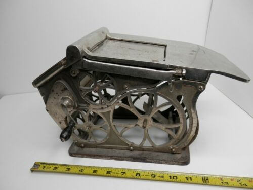 Autographic Register Co Counter Top Register Receipt Machine