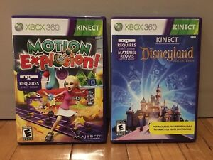Kinect games : Xbox 360